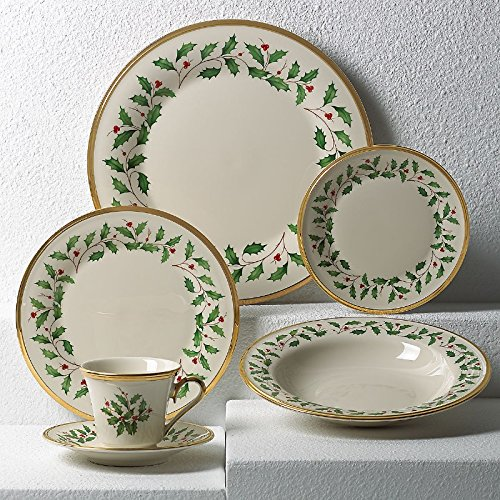 Lenox Holiday 5-Piece Place Setting,Ivory ()