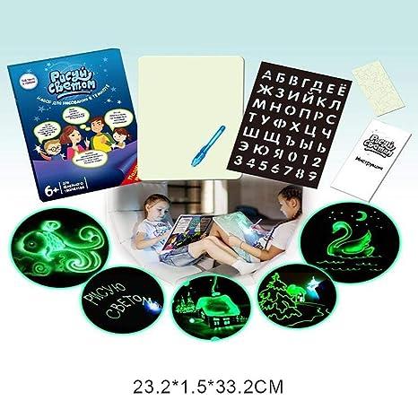 Luckybaby - Pizarra Fluorescente LED electrónica Luminosa A3 ...