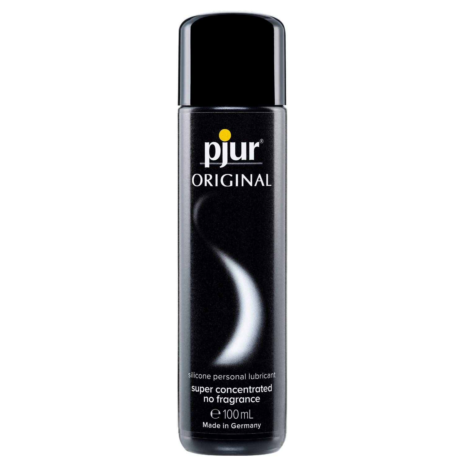pjur Original - Premium Silicone Personal Lubricant - Long-Lasting and Non-Sticky - Very efficient and Compatible with Condoms (100ml)
