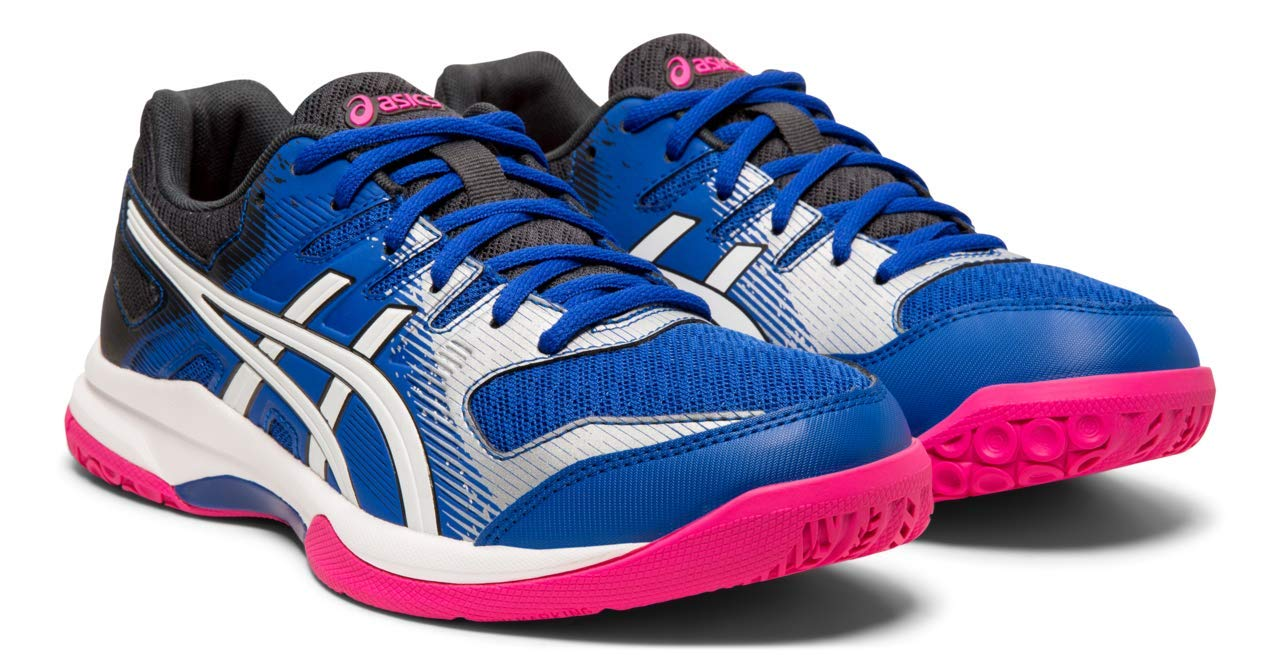 ASICS Gel-Rocket 9 Women's Volleyball Shoes, Asics Blue/White, 5 M US