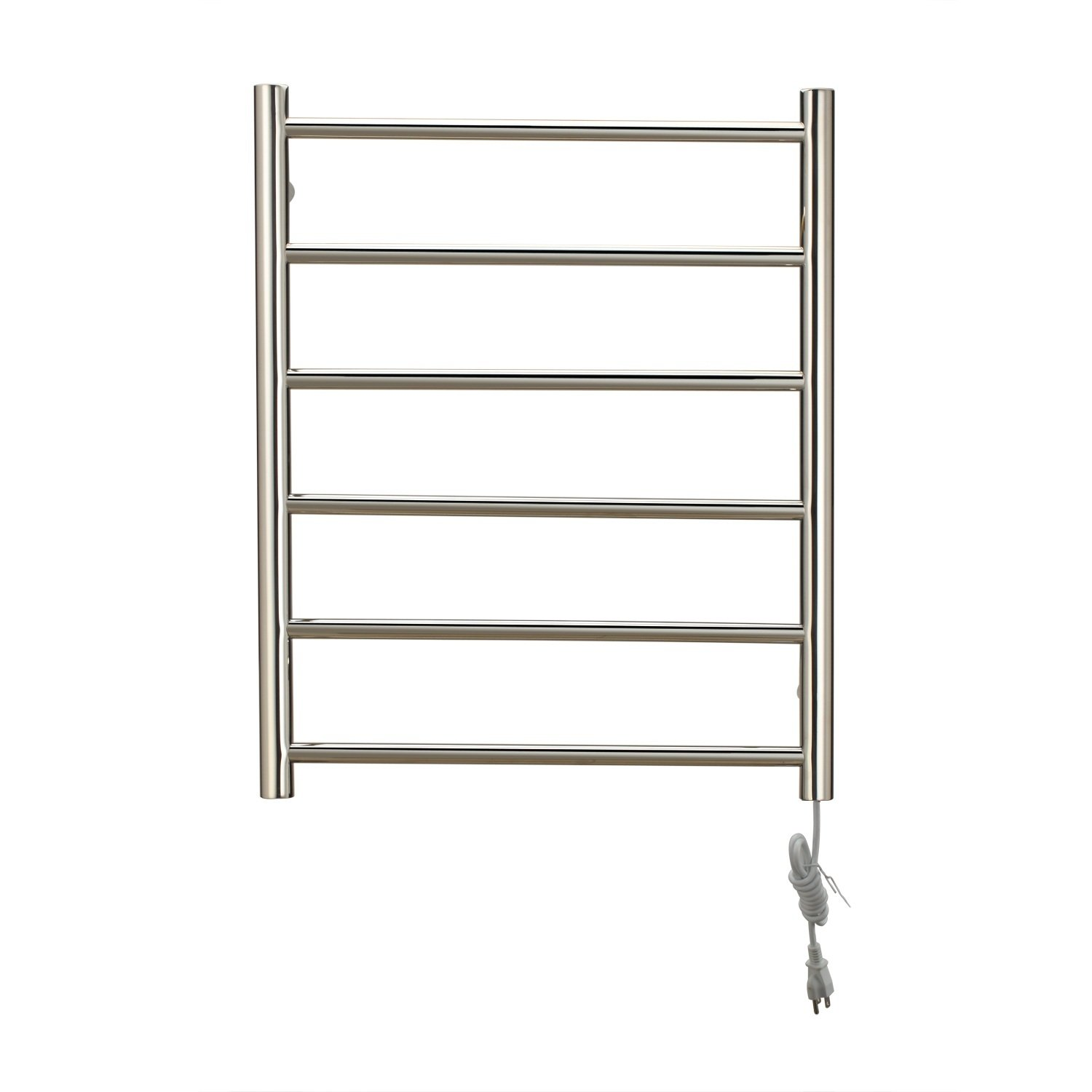 Towel Warmer Stainless Steel Wall Mounted 700 x 540 x 55mm (27.5 x 21.2 x 2.16'') Stainless Steel Contemporary 110-120V by Luxrmoon