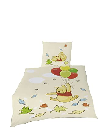 Global Labels Bettwäsche Winnie Pooh Disney Baumwolle 135x200
