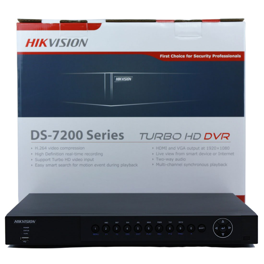 Amazon.com : Hikvision 16 Channel Turbo HD-TVI DVR DS-7216HUHI-F2/N ...