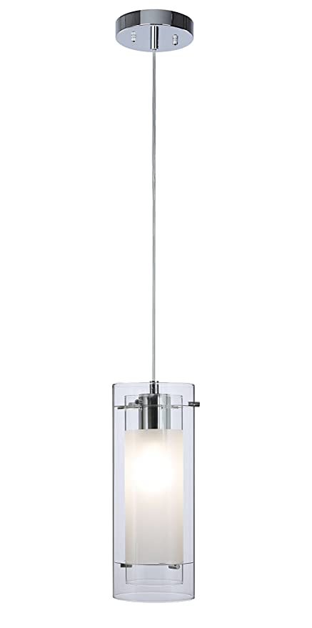 Pendant Lighting Contemporary 1 Light Pendant Hanging Light With