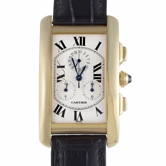 Cartier Tank Americaine Cuarzo Mens Reloj w2605856 (Certificado) de Segunda Mano: Cartier: Amazon.es: Relojes