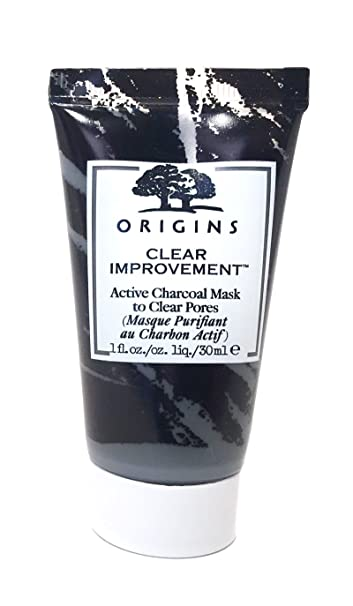 83e7d074f Amazon.com : Origins Clear Improvement Active Charcoal Mask Travel Size 1  Oz : Beauty
