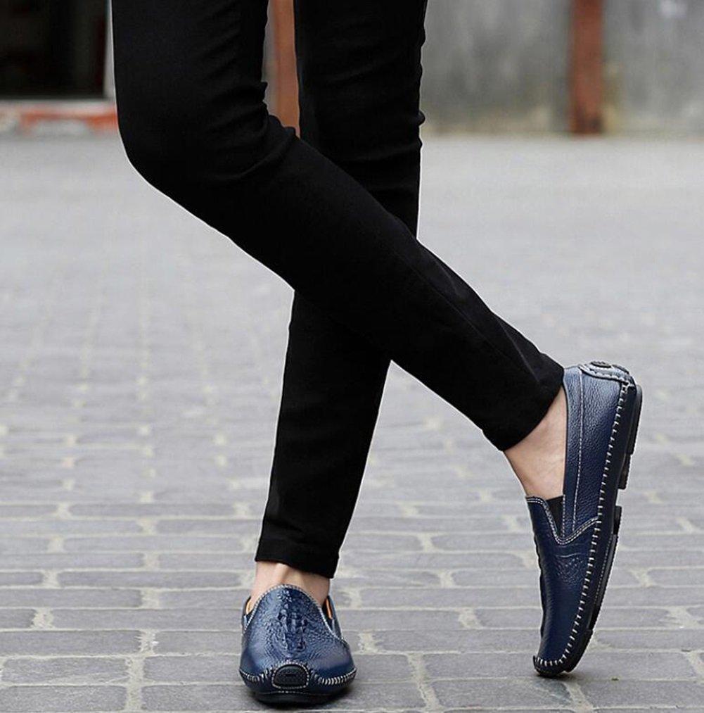 Onfly New New New Männer Schuhe Leder 2018 neue Fahr Schuhe Mode Business Casual Männer Schuhe Leder Fahr Schuhe faule Schuhe eu Größe (Farbe   Braun, Farbe   39) 3d6882