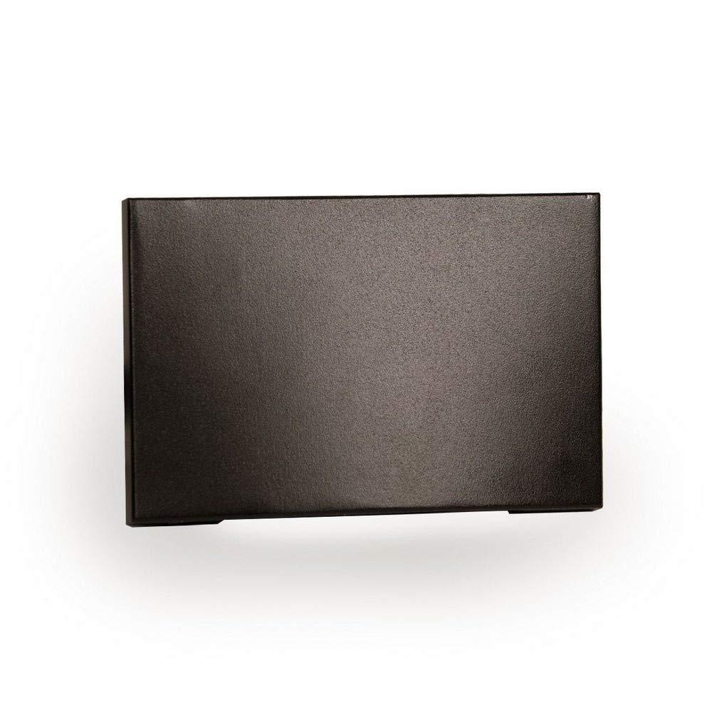 WAC Lighting WL-LED110F-C-BZ 277V 3000K LED Horizontal Scoop Step and Wall Light, Bronze