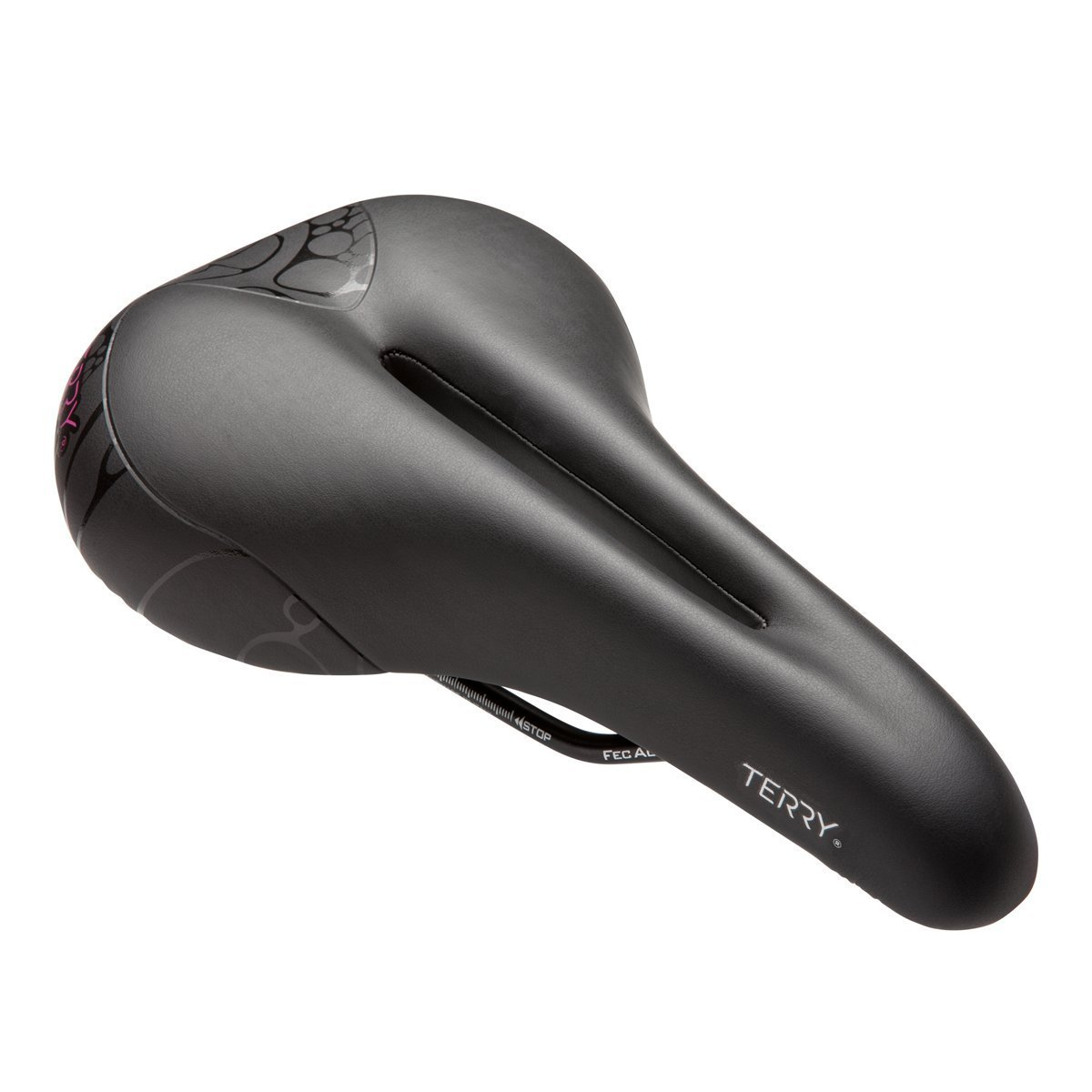 Terry Bicycles Butterfly Cromoly Gel Saddle Women's Black One Size [並行輸入品] B077QQLCCL
