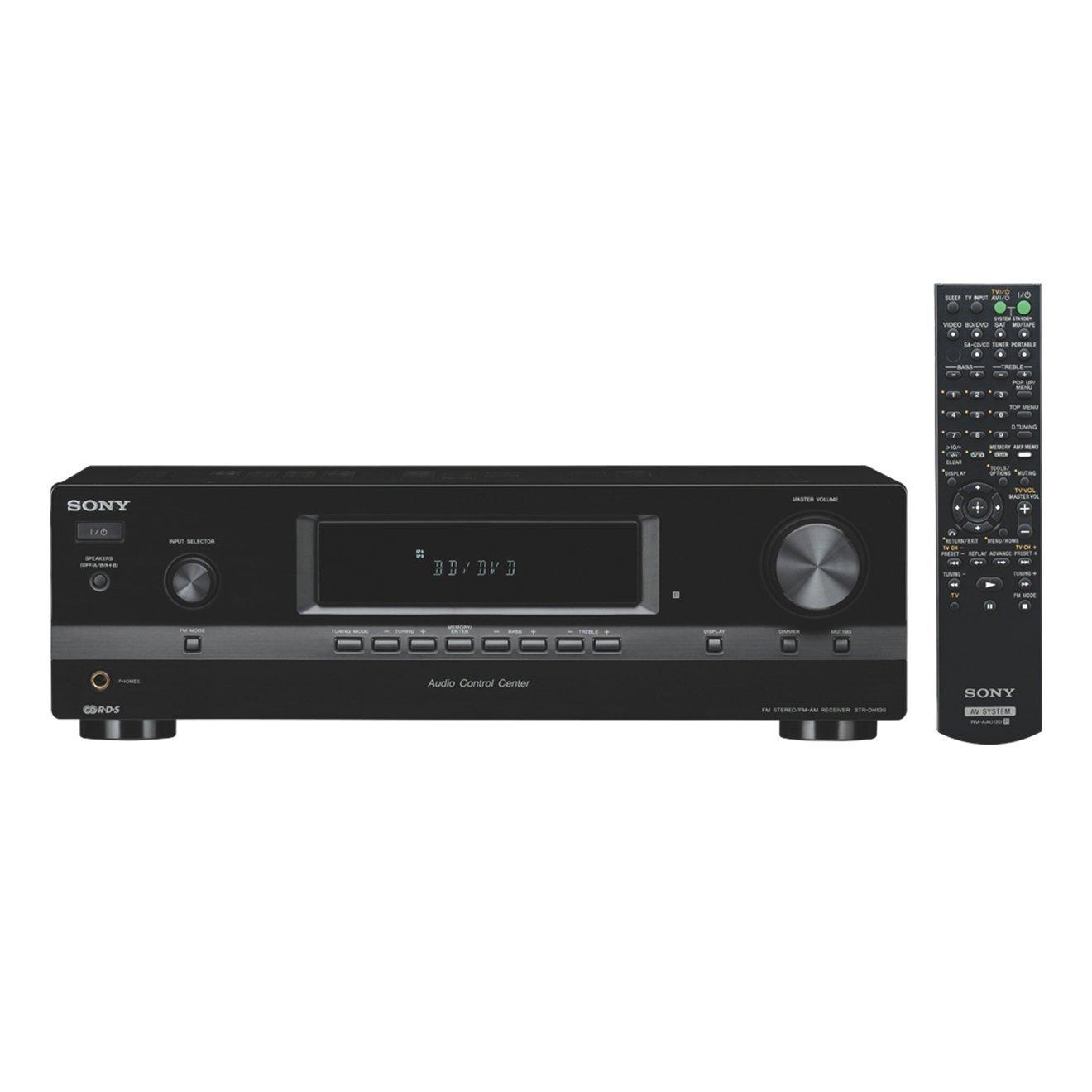 Sony STRDH130 - Receptor para equipo de audio (AM/FM, 2 x 115W