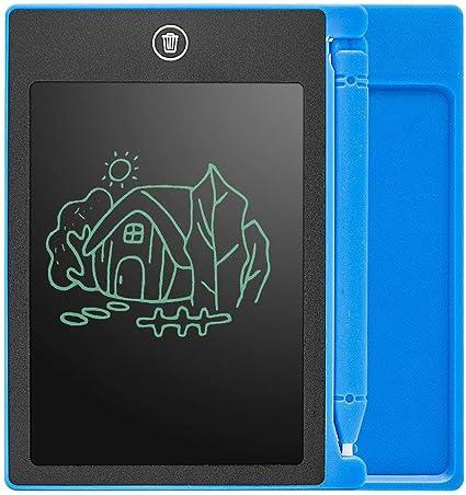 LCDライティングタブレットボードキッズライティングパッド描画絵画グラフィックボードブルー