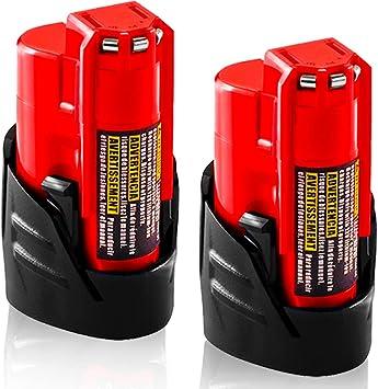 Milwaukee M12 12V Tools M12 BATTERY 2.0AH 3.0AH 6.0AH
