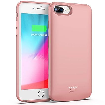 Amazon.com: Funda de batería para iPhone 7 Plus/8 Plus/6 ...