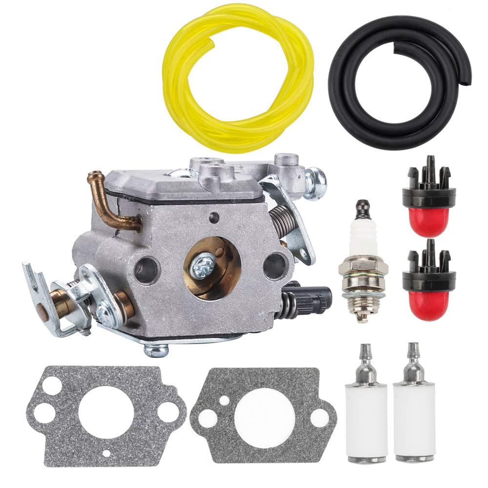 For Husqvarna 123L 323L 327P4 223L Carburetor kit String trimmer Primer Bulbs