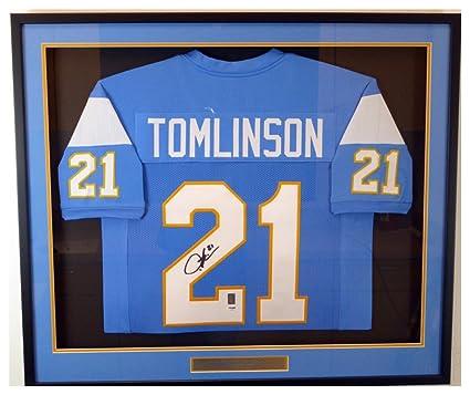 best website d35c0 8122c San Diego Chargers LaDainian Tomlinson Autographed Signed ...