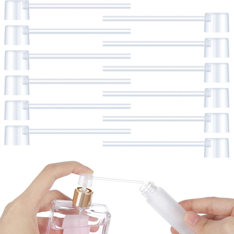 Honoson 12 Paquets Pompe Distributrice de Parfum Pompe de Recharge de Parfum Pompe Distributrice Outil de Transfert pour Bouteille de Pulv/érisation dAtomiseur de Parfum Rechargeable de Voyage