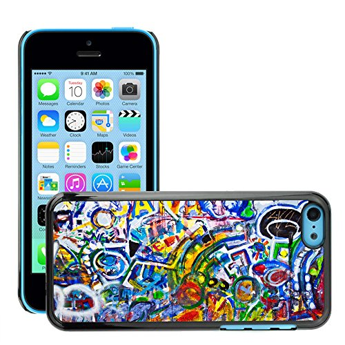 Hülle Case Schutzhülle Cover Premium Case // V00002310 Graffiti // Apple iPhone 5C