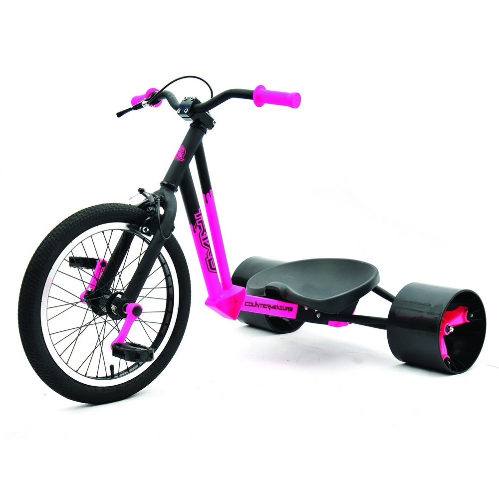 Triad Counter Measure Kids Drift Trike - Pink/Black by Triad