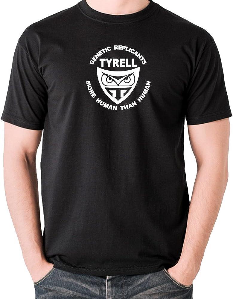 Blade Runner T Shirt Tyrell Genetic Replicants Tech Noir More Human Than Human
