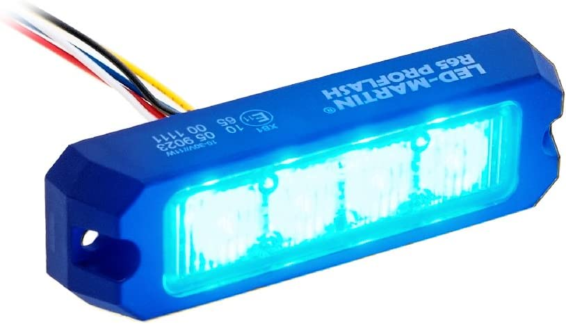 Led Martin 2er Sparset R65 Proflash Blau Frontblitzer Straßenräumer Blitzmodul Feuerwehr Polizei Rettungsdienst Auto