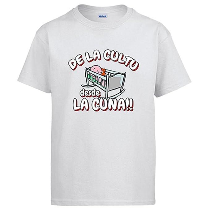 Camiseta De la cultu desde la cuna Cultural Leonesa fútbol - Blanco, 3-4