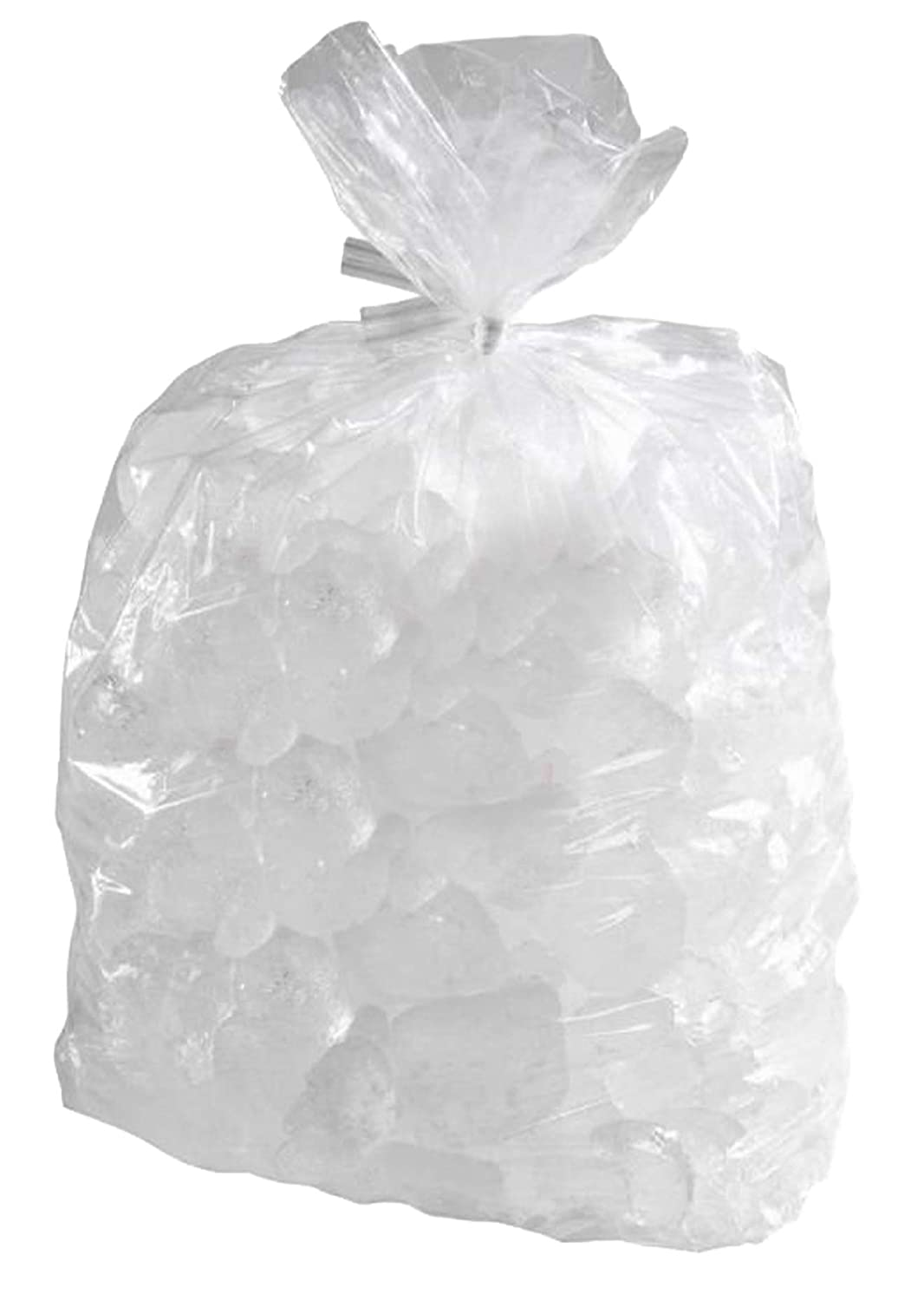 APQ Pack of 1000 Clear Ice Bucket Liners 6 x 6 x 12. Food Grade Plastic Ice Bags 6x6x12. Thickness 1 mil. Transparent Polyethylene Liners for foodservice, Restaurants, Hotels or Home.