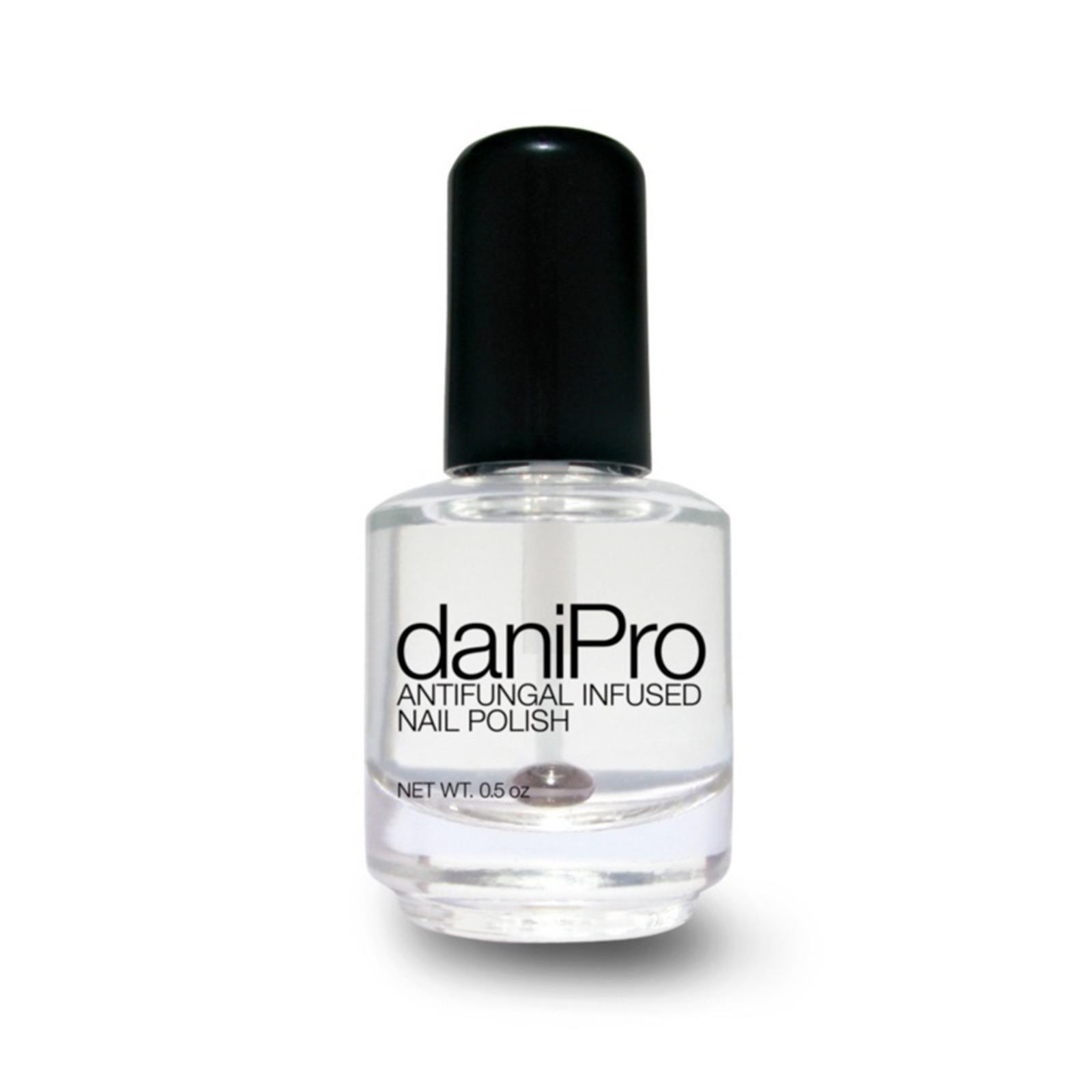 Pink Nail Polish Top Coat: Amazon.com: DaniPro Infused With Undecylenic Acid Nail