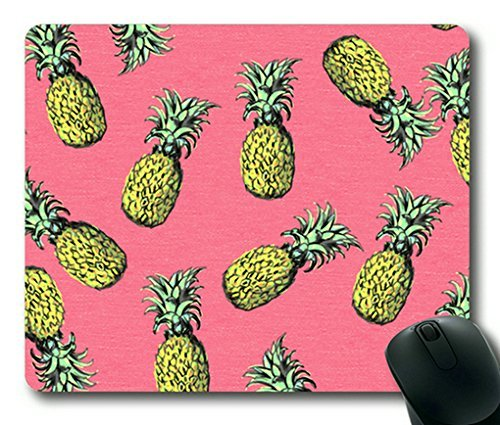 Pineapple Pattern 001 Rectangle Mouse Pad,Gaming Mouse Pad by (Best Designer Mouse Pads)