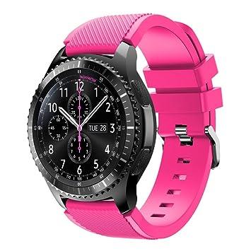 Fulltime® Nuevo deporte pulsera de silicona reloj de pulsera ...
