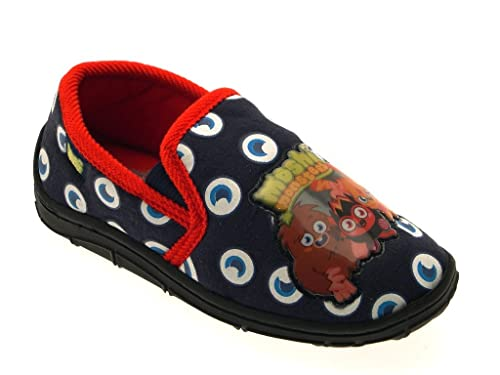 LD Outlet Moshi Monsters ojos Novelty Slippers Niñas Niños Kids Slip On Zapatillas Mulas zapatos infantil tamaño UK 10 - 2: Amazon.es: Zapatos y ...