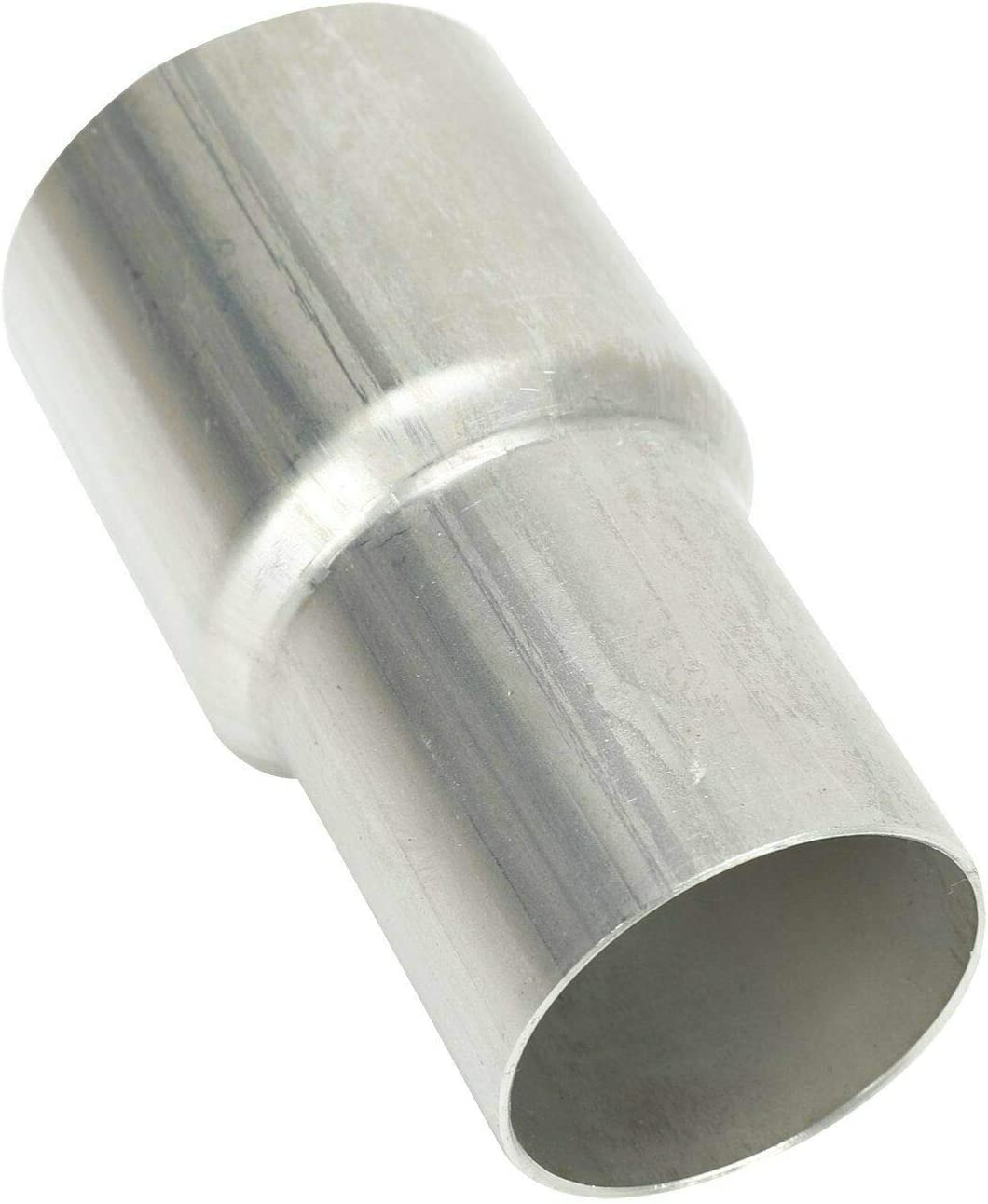 """BLACKHORSE-RACING 1.25 1 1//4/"""" ID to 1.5 1 1//2/"""" ID Exhaust Pipe to Pipe Adapter Reducer Universal"""