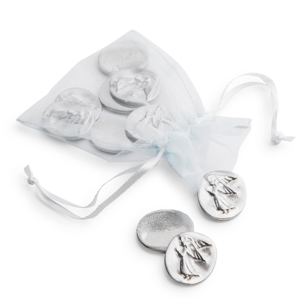 Vilmain Pewter Angel Pocket Tokens, Bag of 10 - Danforth Pewter by Vilmain Collection