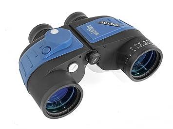 Fernglas Mit Entfernungsmesser Und Kompass : Sutter premium fernglas bak mit kompass marinefernglas inkl