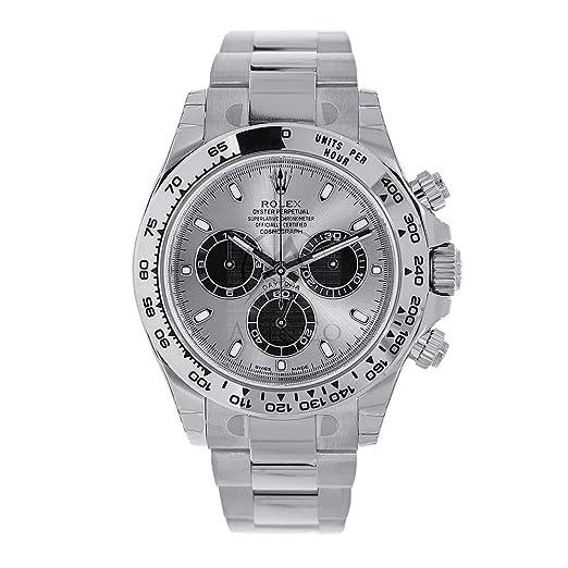 Rolex Daytona 116509 - Reloj para Hombre (40 mm, Oro Blanco de 18 Quilates