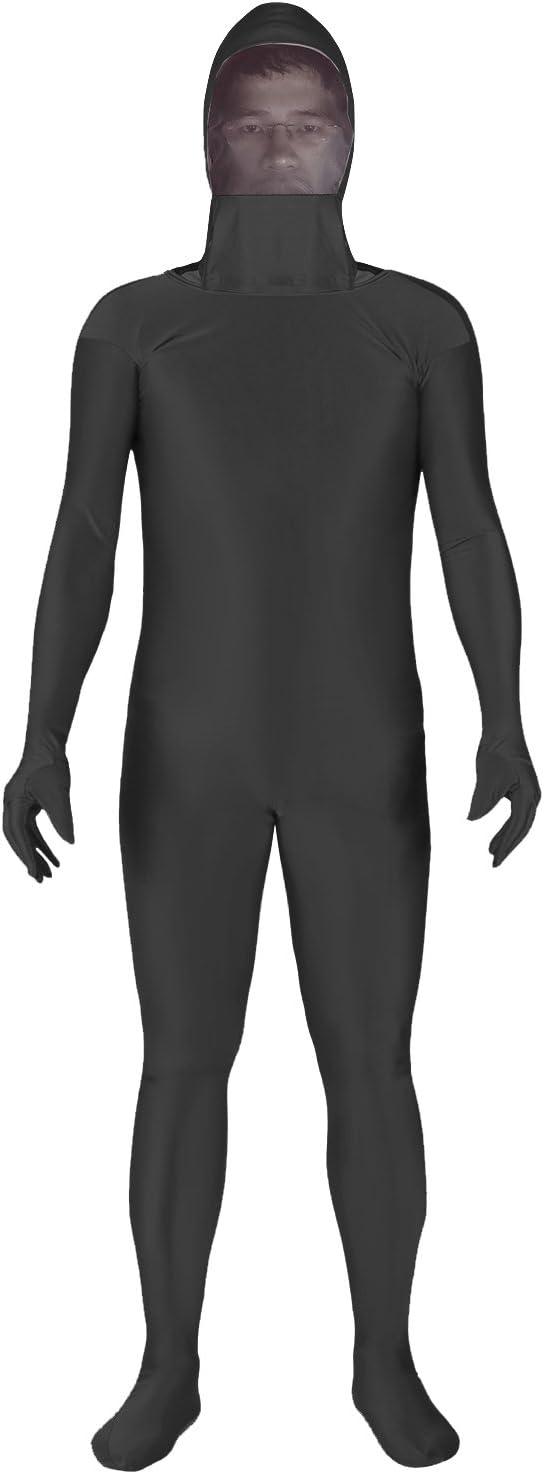 Traje de Cuerpo El/ástico Suave para V/ídeo de Foto Efecto Invisible en Fotograf/ía Digital y Post-Producci/ón Neewer Foto Video Traje de Pantalla Cuerpo Completo Negro