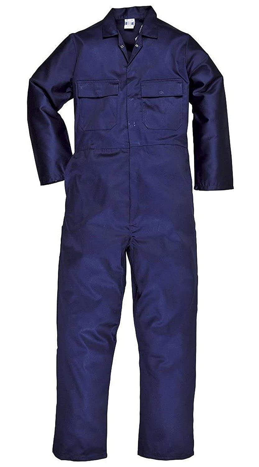 d212fff856f Super Save Direct uk Mens Boiler Suit Overall Coverall Work Boilersuit   Amazon.co.uk  Clothing