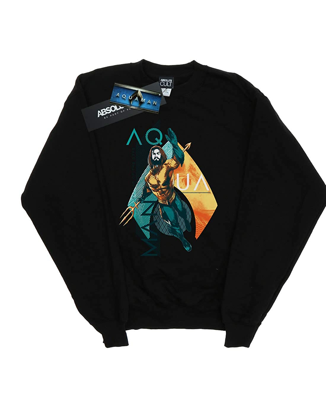 DC Comics Girls Aquaman Tropical Icon Sweatshirt