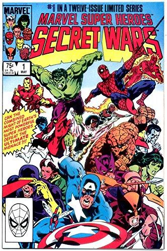 Marvel Super-Heroes Secret Wars #1 - BLUE GALACTUS VARIANT EDITION - Marvel Comics 1984