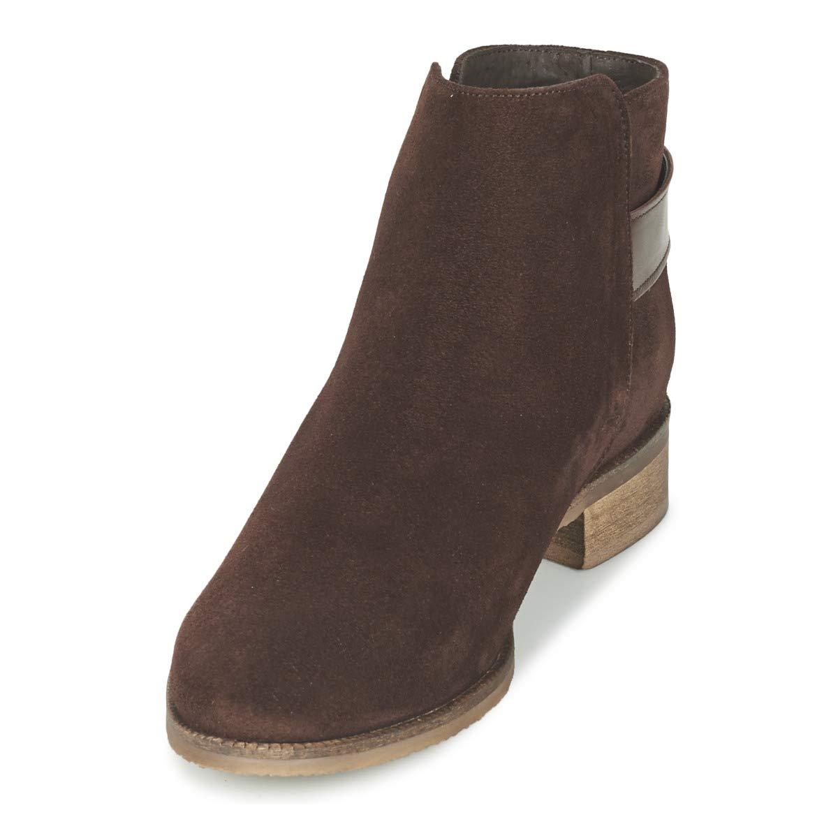 Betty London Damen FIAZANE Stiefelletten Stiefel Damen London Braun Stiefel 9cd520
