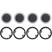4 Pack LED Motor Lamp Arm Light Cover Cap + Base Ring Kit Replace Part for DJI Spark RC Drone
