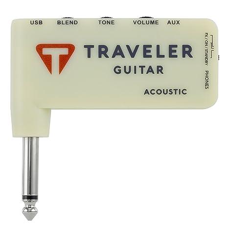 Traveler tga-1 a de guitarra acústica amplificador de auriculares