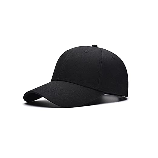 038ca6606a5 2016 Fashion Men Women New Black Baseball Cap Hat Hip-Hop Adjustable Caps ( Black