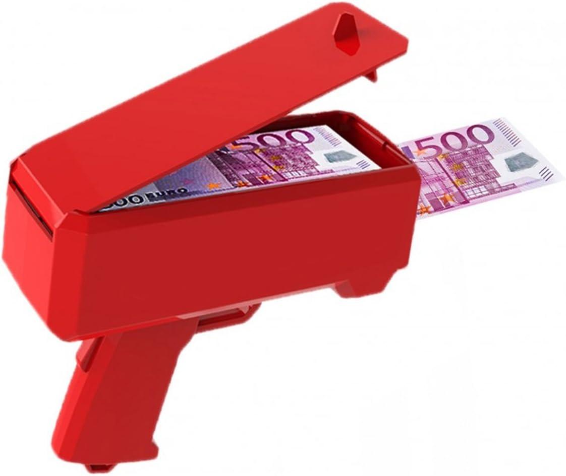 Party Co Pistola Sparasoldi Cash Cannon Money Gun Tipo Supreme Amazon It Casa E Cucina