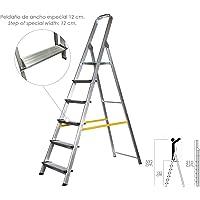 Escalera Aluminio Maurer Domestica/profesional En131 - 6 Peldaños