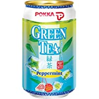 Pokka Peppermint Green Tea 300 ml (Pack of 24)