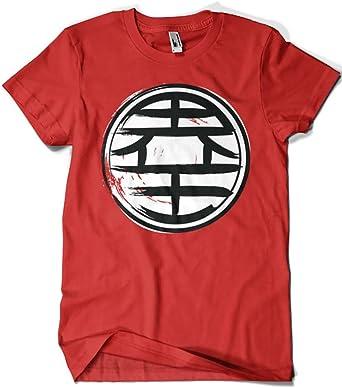 3402-Camiseta Premium, Dragon Ball - Kaio Kanji (Dr.Monekers): Amazon.es: Ropa y accesorios
