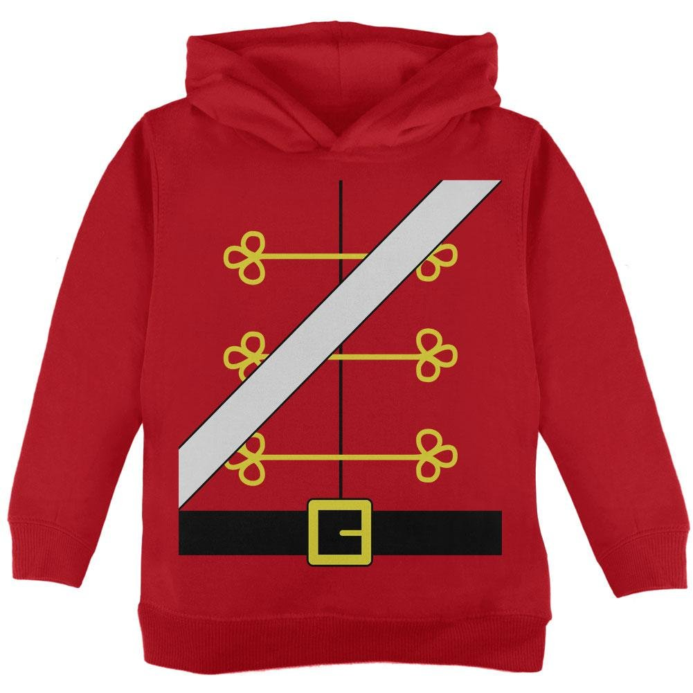 Christmas Toy Soldier Nutcracker Costume Toddler Hoodie Old Glory 00175485