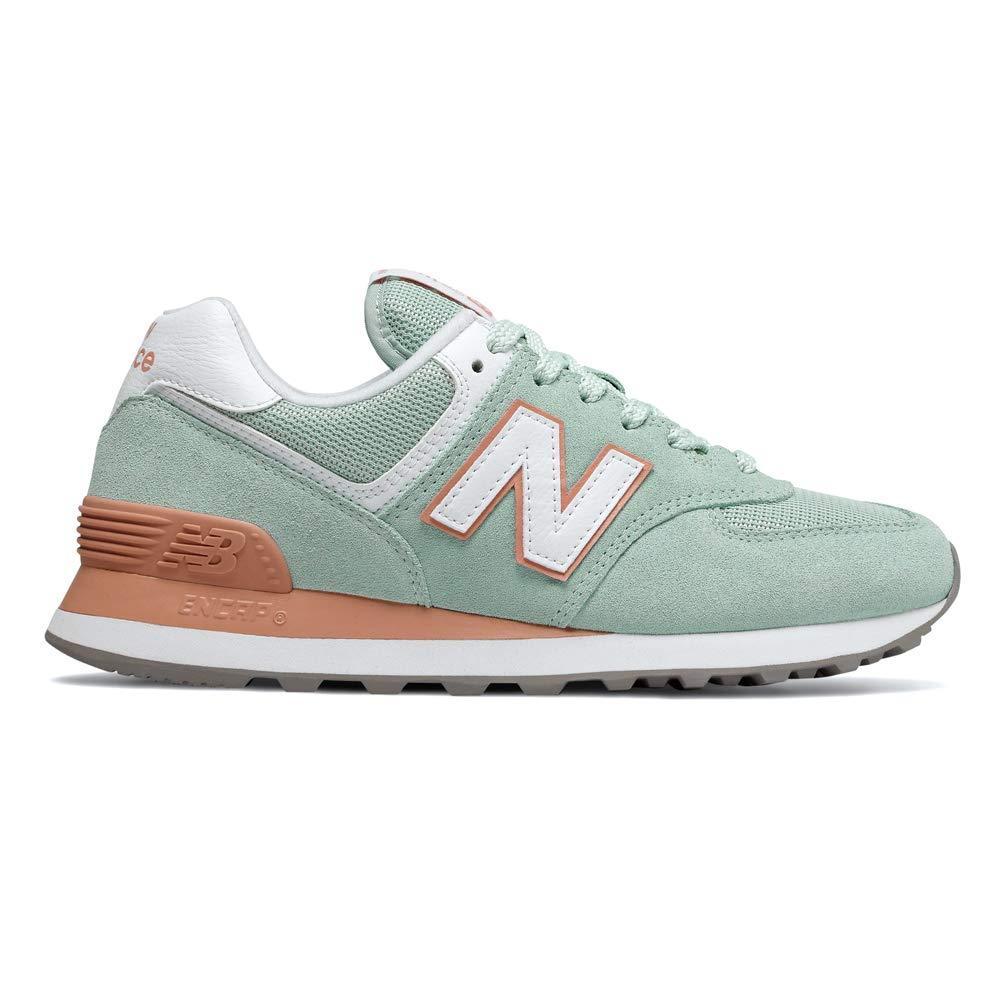 new balance sneakers wl574ksc-b encap hellgrau