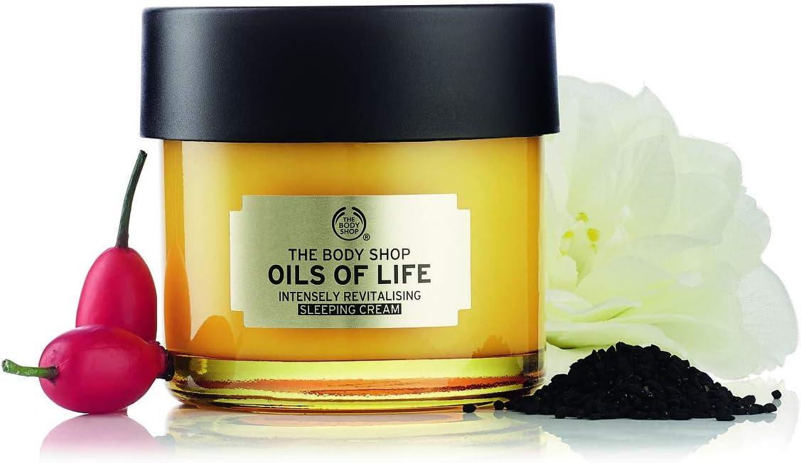 Crema de noche Oils of life de The Body Shop 80 ml