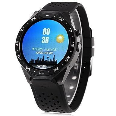 IDS Home Kingwear kw88 - Reloj Inteligente con función de Cuatro núcleos 3G, Bluetooth,